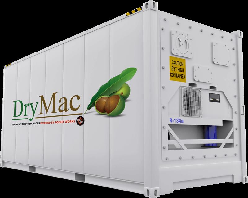 Heat Pump Macadamia Dryer